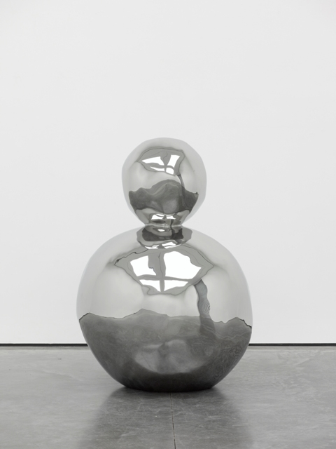 Gary Hume - Neptune, 2012 (Stainless steel) - Photo Ben Westoby – Courtesy White Cube