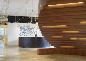 WORKac architects - Office space for Wieden and Kennedy, New York (ph Bruce Damonte and Raymond Adams) 2014