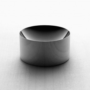 Minimalux - Dish 60 bowl (stainless steel, mirror polished and black nickel) via Leibal