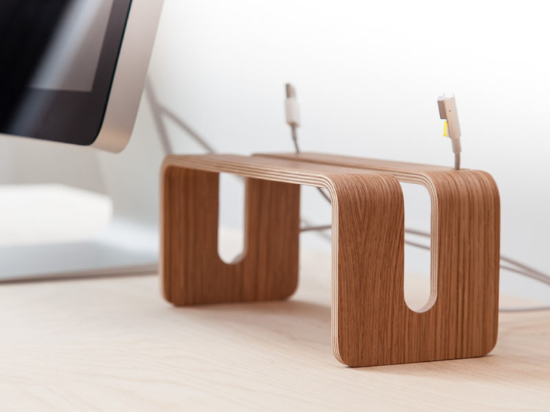 Nordic Appeal Desk Accessories In Wood Imac And Display Stand