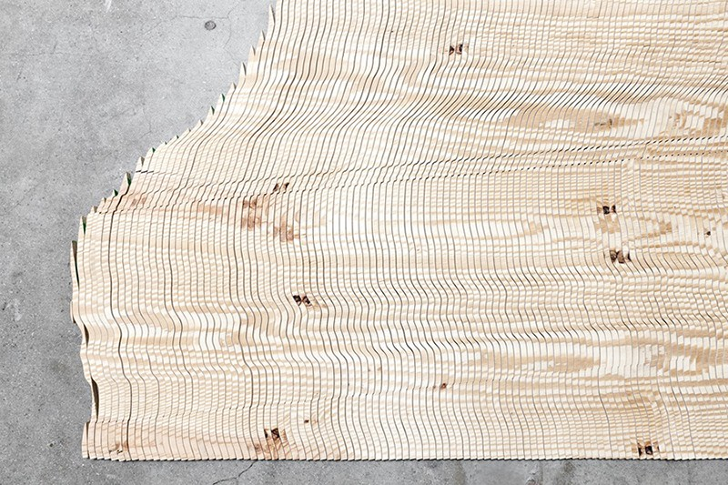 Tauba Auerbach - The New Ambidextrous Universe I, 2013 (Plywood)