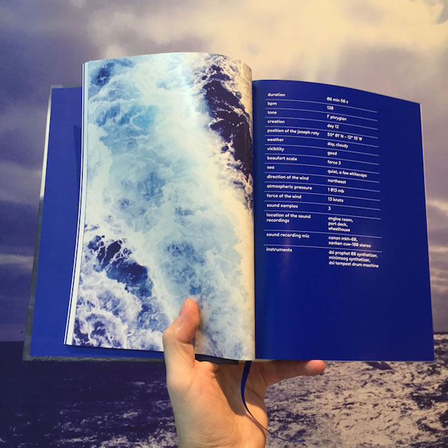 Molecule - 60°43′ Nord - Book and CD - Mille Feuilles and Classic co-edition, january 2015