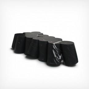 Emmanuel Babled - Blacksheep table [marble, 2011]