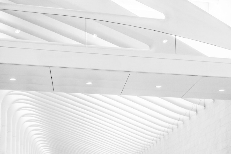 Tamara Weber - first portion of WTC Transportation Hub West Hall (by Santiago Calatrava Valls), NYC