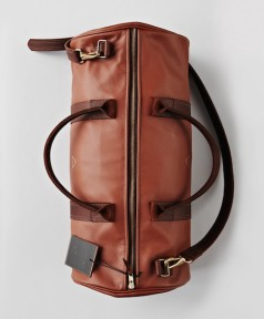 I Love Ugly - Leather Duffle Bag Brown