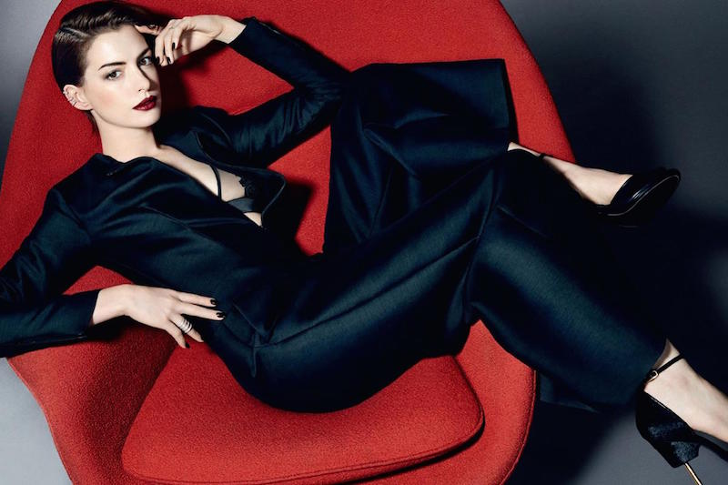 Kai Z Feng - Anne Hathaway for Elle UK, November 2014