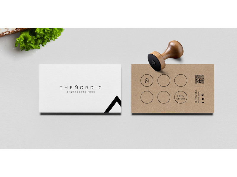 Alexandre Pietra - Branding for The Nordic food truck