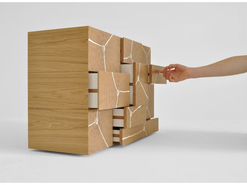 Byron and Gomez - Log Stack cabinet