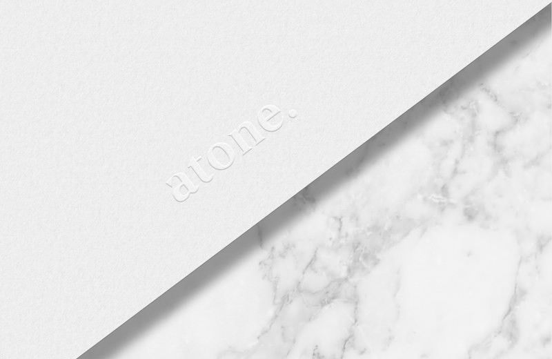 Laura Pol - Visual identity for Atone