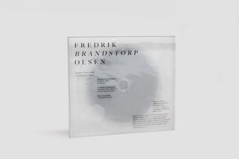 Nicholas Kulseth with Eirik Ruiner Torgersen and Anna Ducros - Lied, album cover design for Fredrik Brandstorp Olsen