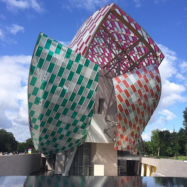In The Mood for Paris - Fondation Louis Vuitton - Gehry & Buren