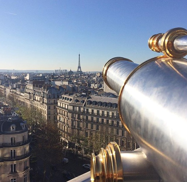 In The Mood for Paris - Panorama - Printemps's terrace