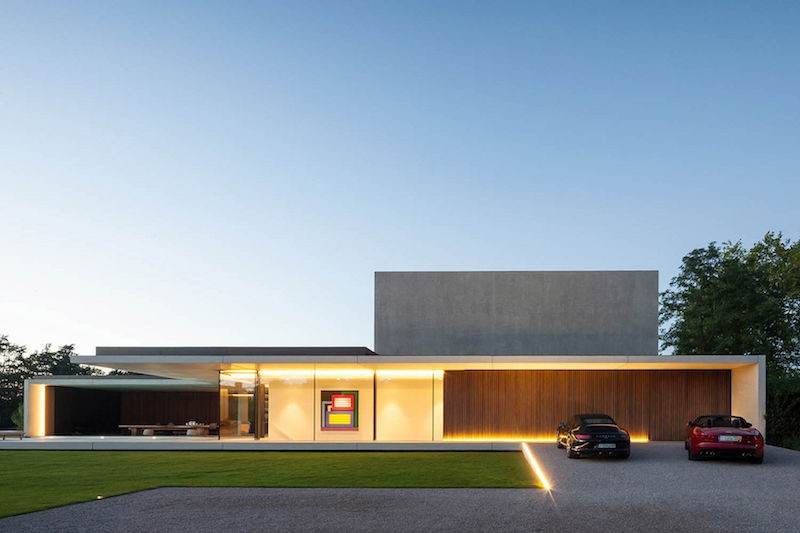 Govaert and Vanhoutte Architects - VDB Residence, Ghent, Belgium
